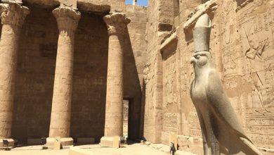 Photo of اكتشاف تمثال ضخم للإله حورس في مصر