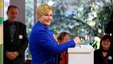 Photo of جولة إعادة بين رئيسة كرواتيا ورئيس الوزراء الأسبق في الانتخابات الرئاسية