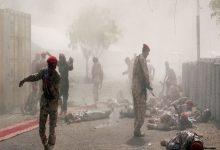 Photo of 110 قتيلًا وجريحًا في هجوم صاروخي على معسكر الجيش اليمني في مأرب