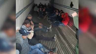 Photo of سائق يُهرب مهاجرين في صندوق سيارته