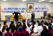"""Photo of """"صوت العرب من أمريكا"""" يحتفي باللغة العربية مع طلاب """"بيفرلي هيلز"""""""