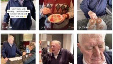 """Photo of مُسنّ أمريكي يتحول إلى نجم على منصة """"تيك توك"""""""