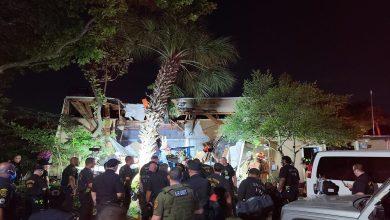 Photo of سقوط مروحية للشرطة فوق مجمع سكني في تكساس
