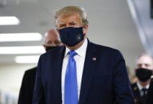 Photo of أخيرًا.. ترامب يرتدي الكمامة في مكان عام لأول مرة!