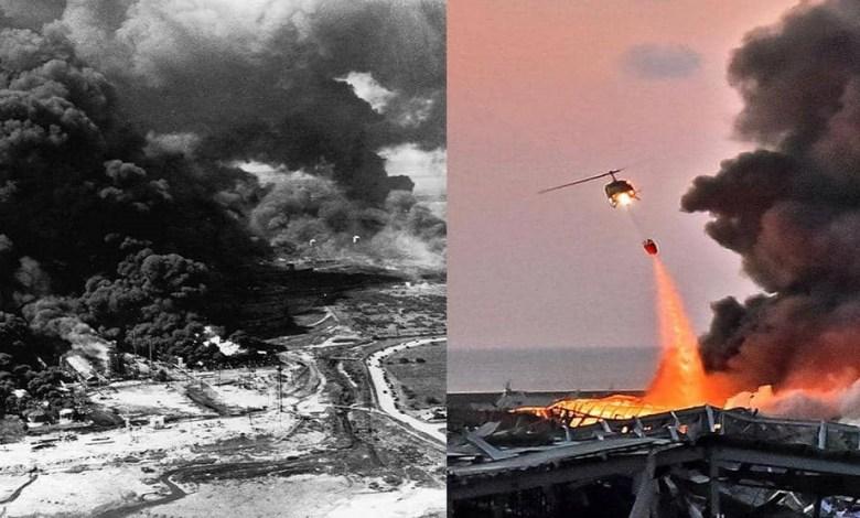 """Photo of من تكساس إلى بيروت.. أبشع كوارث """"نترات الأمونيوم"""" خلال قرن"""