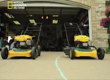 العلماء المجانين : آلة جز العشب الطائرة