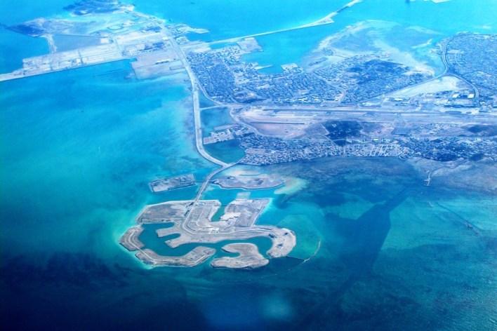 جزر الأمواج، البحرين