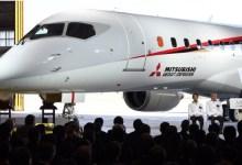 صورة أول طائرة يابانيّه الصنع منذ نصف قرن