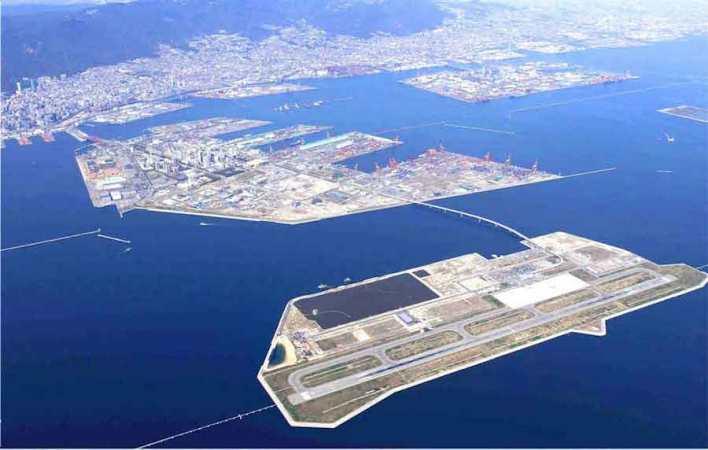 جزيرة الميناء كوبي، اليابان