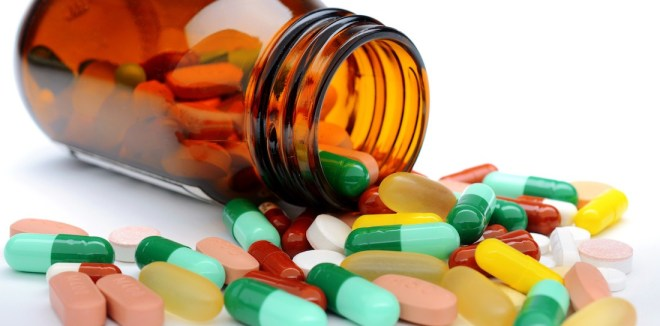 تناول المضادات الحيوية