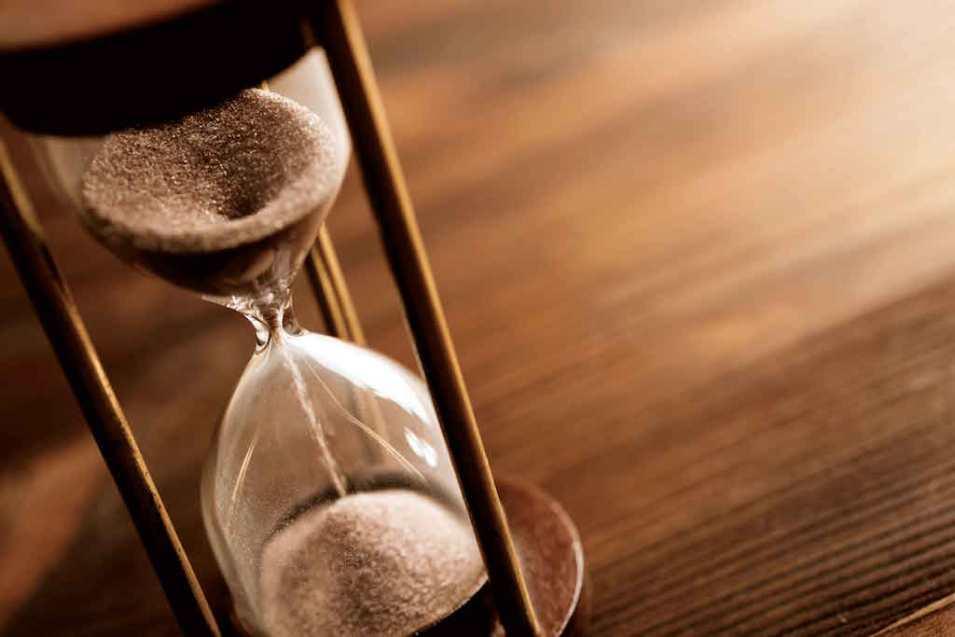حدد وقت إنجاز العمل
