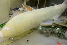 صورة مقتطف – شاهد  كيف تم طلاء أكبر طائرة في العالم تابعة لطيران الامارات