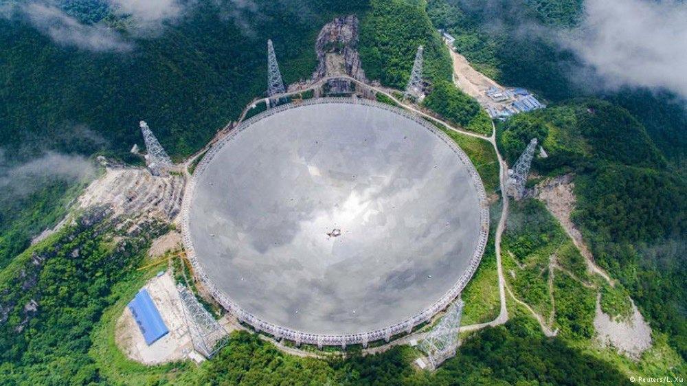 """مقال - أكبر تلسكوب لاسلكي في العالم لاكتشاف """"مخلوقات الفضاء"""" !!! - موقع علوم العرب"""
