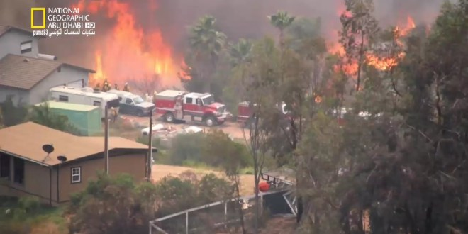 كتيبة الإعصار : حريق كاليفورنيا