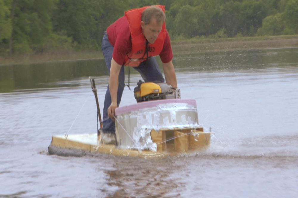 العلماء المجانين : صاروخ مائي