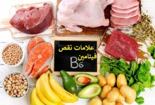 صورة مقال – 9 علامات خطيرة على نقص فيتامين B6