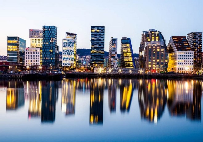 أوسلو ثالث أغلى مدينة في العالم وهي المدينة الأكثر اكتظاظا بالسكان في النرويج