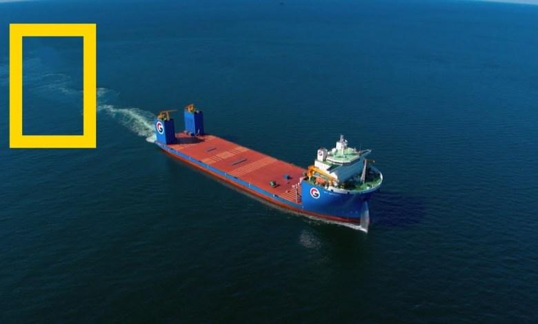أروع العجائب الهندسية : أعظم سفن البضائع