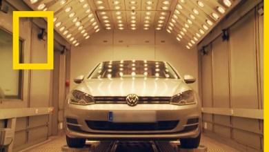 أروع العجائب الهندسية : مصنع السيارات الضخم فولفسبورغ ألمانيا