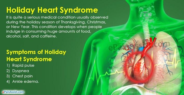 ما هي متلازمة القلب أثناء العطلة وكيف تتجنبها؟