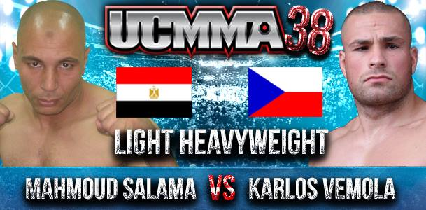 Mahmoud Salama To Face Vemola At UCMMA 38 - ArabsMMA
