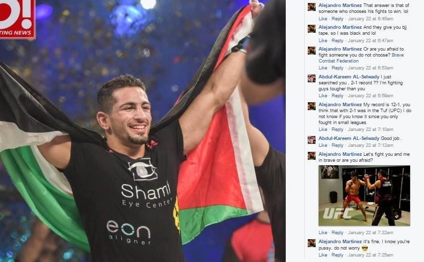 Abdulkareem Al Selwady X Alejandro Martinez Facebook Conversation (Part 2)