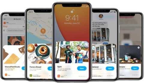 تصميم جديد للشاشة الرئيسية iOS 14