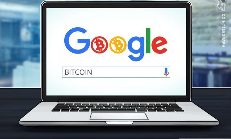 """Photo of الاهتمام ببيتكوين على غوغل يحاكي سعر ١٠ آلاف دولار أمريكي بينما تتلاشى """"ضجة التنصيف"""""""