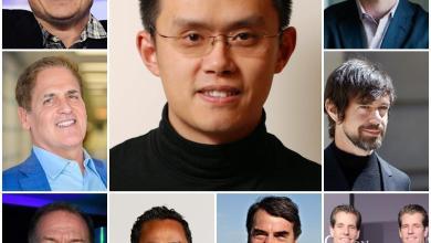 صورة 9 من أصحاب المليارات يكشفون عن كمية ما يملكونه من البيتكوين