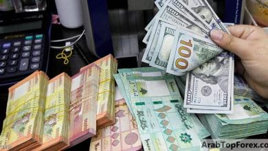 صورة انهيار قياسي لليرة اللبنانية أمام الدولار