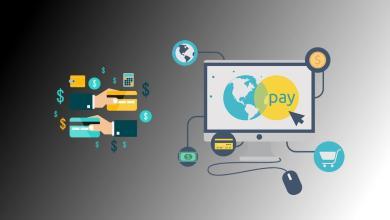 صورة وسائل الدفع الإلكتروني على الأنترنت لمواقع التجارة الإلكترونية