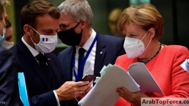 """صورة قادة الاتحاد الأوروبي يتفقون على حزمة """"التعافي من كورونا"""""""