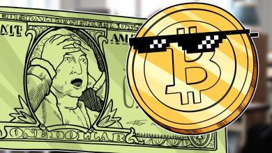صورة الأمريكيون يستبدلون الدولار المتراجع مقابل بيتكوين