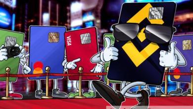 صورة بطاقة فيزا للعملات المشفرة من باينانس متاحة الآن في جميع أنحاء المنطقة الاقتصادية الأوروبية