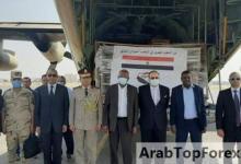 """صورة مصر ترسل الرحلة الخامسة من """"هدية المخابز"""" إلى السودان"""