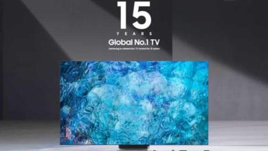 صورة للعام الخامس عشر على التوالي تحتل سامسونج المركز الأول في سوق أجهزة التلفاز !