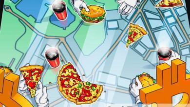 صورة بيتكوين مقابل البيتزا، وليس العكس، وفقًا لعرض من بابا جونز لعملاء المملكة المتحدة