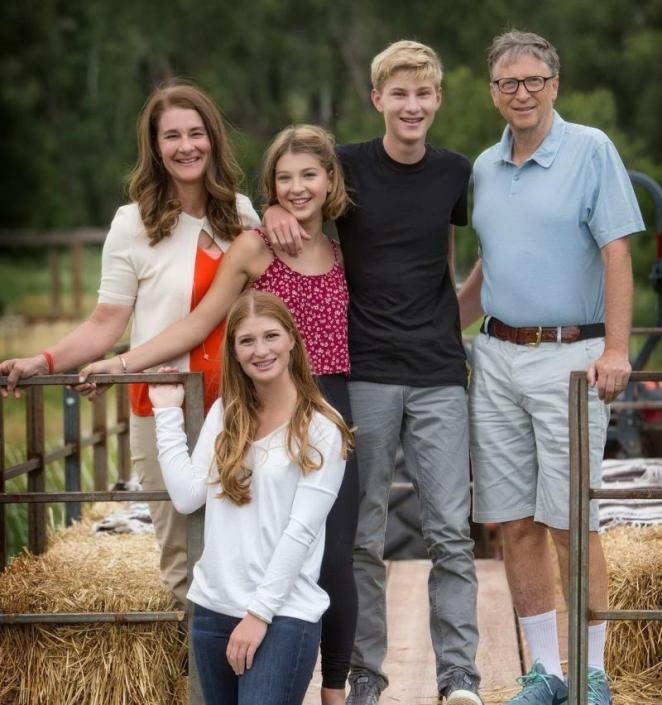 عائلة فيبي أديل جيتس