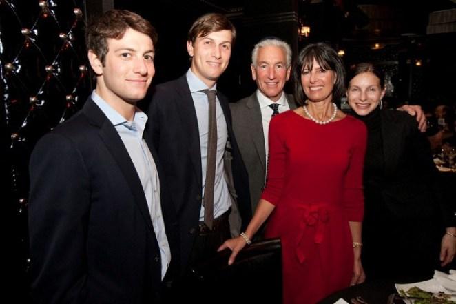 تشارلز كوشنر مع العائلة