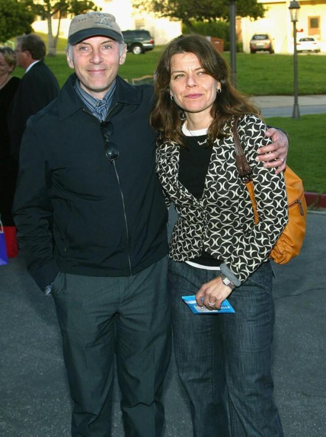 دان كاستيلانيتا مع زوجته ديب لاكوستا