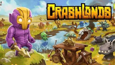 لعبة القتال كراش لاندز Crashlands