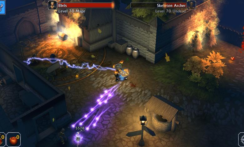 لعبة القتال والمغامرات Eternium لأجهزة اندرويد وايفون