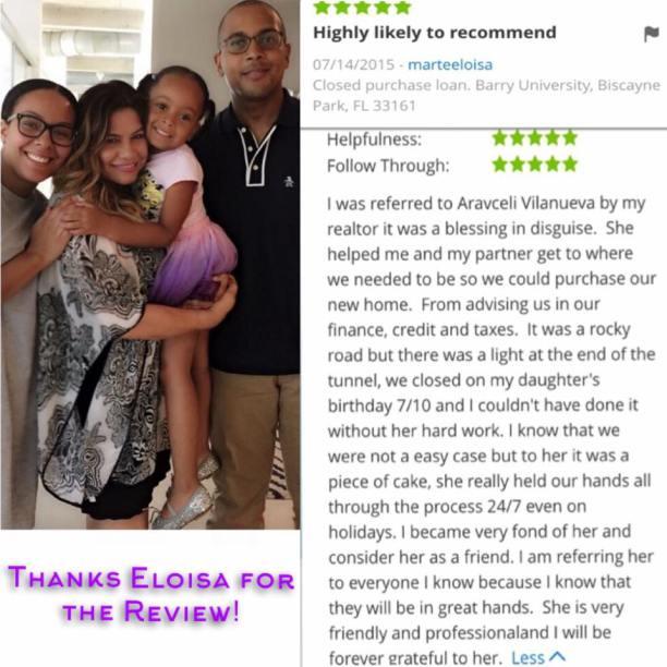 Araceli Zillow Review by Eloisa