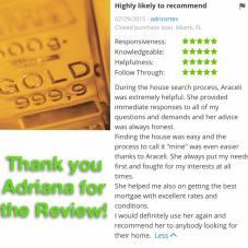 Araceli Zillow Review by Adriana