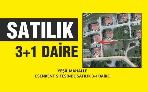 SATILIK 3+1 DAİRE