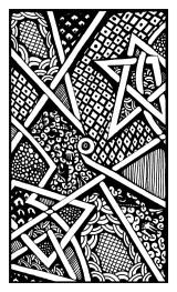 Zen Doodle - Triangles