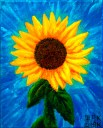 Sunflower Acrylic