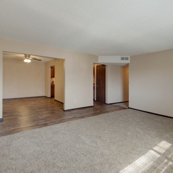 Aragon Apartments, 2 Bedroom, Living Room