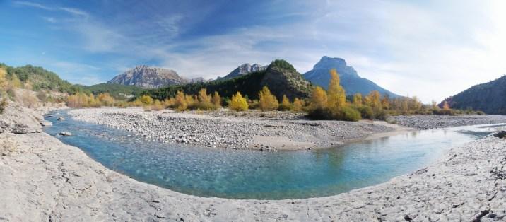 Río Cinca, Puértolas.