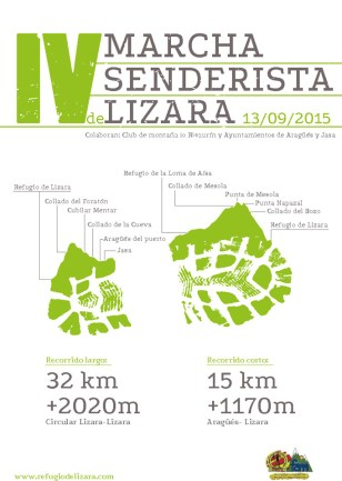 Marcha Senderista de Lizara.